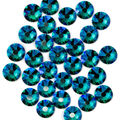 Swarovski Create Your Style 30 pk Hotfix Crystals-Blue Zircon Shimmer