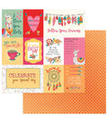 Photoplay Paper Paprika 12\u0027\u0027x12\u0027\u0027 Double-Sided Cardstock-Love Life