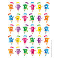 Pencil Smiley Faces Theme Stickers 12 Packs