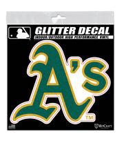 Oakland Athletics Metallic Decal, , hi-res