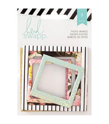 Heidi Swapp Memory Planner Photo Frames 7/Pkg