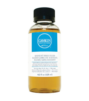 Gamblin 4.2 fl. oz. Solvent-Free Fluid Painting Medium