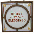 Simply Autumn Wall Decor-Count Your Blessings