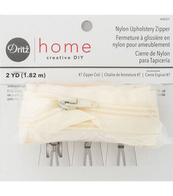 Dritz Home Nylon Home Decor Zipper 72''
