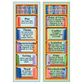 Smart Bookmarks Elements Of Literature, 36 Per Pack, 12 Packs