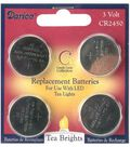 Darice 4 Pk 3V CR2450 Replacement Batteries