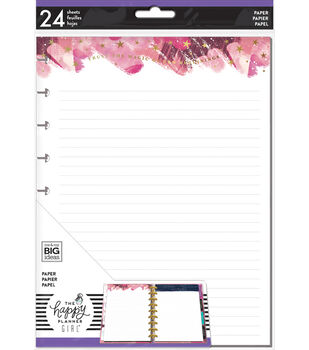 The Happy Planner Girl Classic Paper-Stargazer Lined Foil