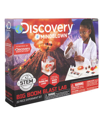 Toy Experiment Kit Exploding Boom