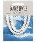 John Bead Earth\u0027s Jewels Freshwater Pearls Semi Round-6mm