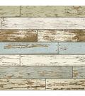 Wallpops Nuwallpaper Peel & Stick Wallpaper-Old Salem Vintage Wood