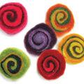 Feltworks Multicolor Spirals 6 Pack