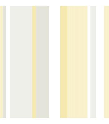 WallPopsNuWallpaperYellow Awning Stripe Peel And Stick Wallpaper