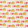 Blizzard Fleece Fabric-I Heart Tacos