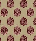 Jaclyn Smith Upholstery Fabric 54\u0022-Amy/Punch