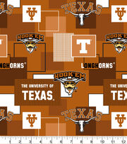 University of Texas Longhorns Cotton Fabric-New Block, , hi-res