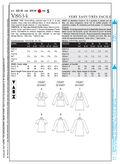 Mccall Pattern V8634 Xsm-Sml-Me-Vogue Pattern