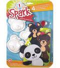 Spark Bears Plaster Magnet Kit