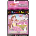Melissa & Doug On The Go Scratch Art Color Reveal Pad-Fairy Tales