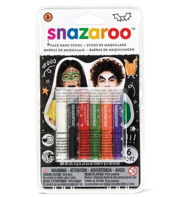 Snazaroo Face Painting Sticks - Halloween 6Ct