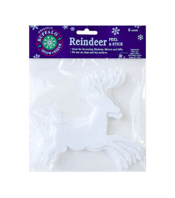 Buffalo Snow Adhesive Artificial Snow-Reindeer