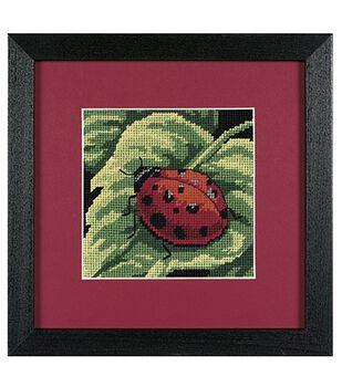 Dimensions Mini Needlepoint Kit Ladybug, Ladybug