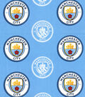 Manchester City Football Club Cotton Fabric 44\u0027\u0027