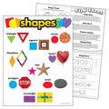 Shapes Learning Chart 17\u0022x22\u0022 6pk