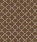 Waverly Upholstery Fabric 54\u0022-Framework/Chocolate