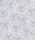 Keepsake Calico Cotton Fabric-Metallic Burst Light Gray