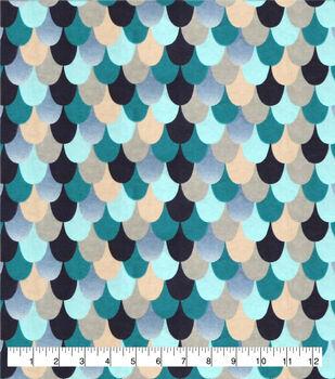 Super Snuggle Flannel Fabric-Dragon Scales
