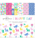 Park Lane 12\u0022x12\u0022 Paper Pad-Happy Day
