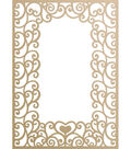 Ultimate Crafts Special Occasions Die-Loving Flourishes Frame 3.9\u0022X5.5\u0022