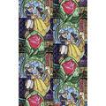 Disney Cotton Fabric -Beauty & The Beast
