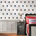 York Wallcoverings Wallpaper-Harry Potter House Crest