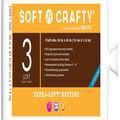 Soft n Crafty  Extra-Loft Batting 36\u0022x45\u0022