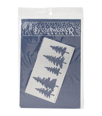 Dreamweaver Lynell Harlow 4.5''x2.5'' Metal Stencil-Pine Trees