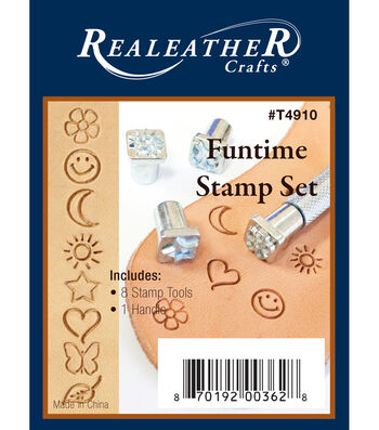 Realeather Crafts Funtime Stamp Set 8 Pack
