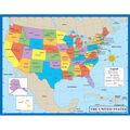 Carson-Dellosa Map of the United States Chart 6pk