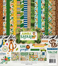Collection Kit 12\u0022X12\u0022-Jungle Safari
