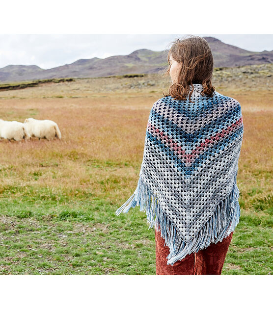 Lion Brand Yarn Shawl in a Ball Scarf 5.3 oz SELECT YOUR COLOR!