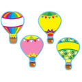 Hot Air Balloons Accents 36 Per Pack, Set Of 6 Packs