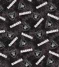 Oakland Raiders Flannel Fabric 42\u0022-Tie Dye
