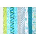 Jelly Roll Cotton Fabric Pack 2.5\u0027\u0027x42\u0027\u0027-Trend 3