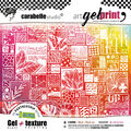 Carabelle Studio Gel Plate & Rubber Texture Plate Kit-Life In Pictures
