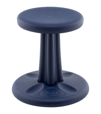 "Kore Kids Wobble Chair, 14"", Dark Blue"
