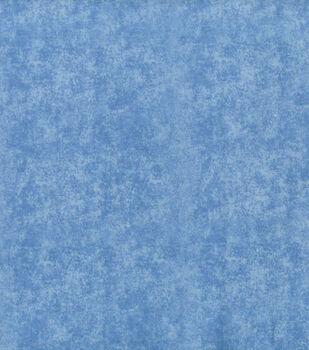 Wide Flannel Fabric -Blue Blender