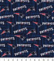 New England Patriots Knit Cotton Fabric, , hi-res
