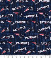 New England Patriots Knit Cotton Fabric, , hi-res