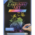 Royal Langnickel Rainbow Foil Kitten & Butterflies Engraving Art Kit