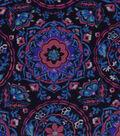 Snuggle Flannel Fabric -Warm Sunset Medallion